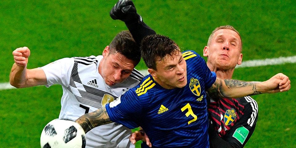 Германия вдесятером забирает победу у Швеции на 95-й минуте. Голы и лучшие моменты