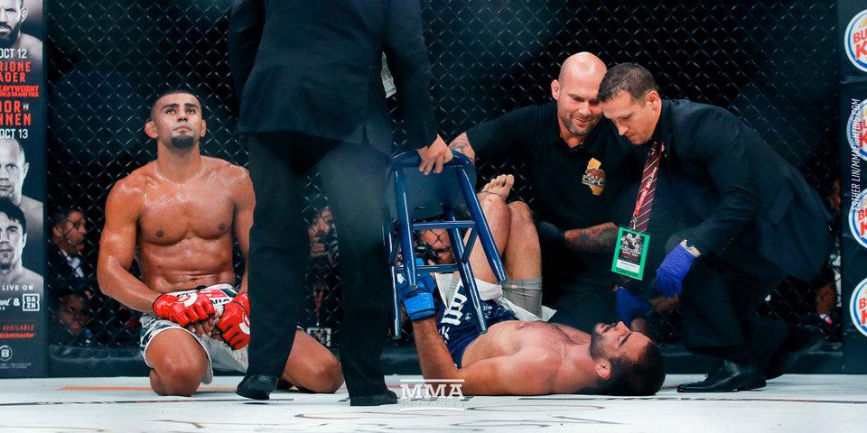 Пока вы ждете Хабиба и Конора. Россиянин Корешков проиграл бразильцу Лиме в Bellator
