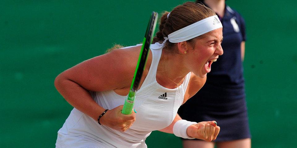 Остапенко не пустила Свитолину в четвертьфинал Уимблдона