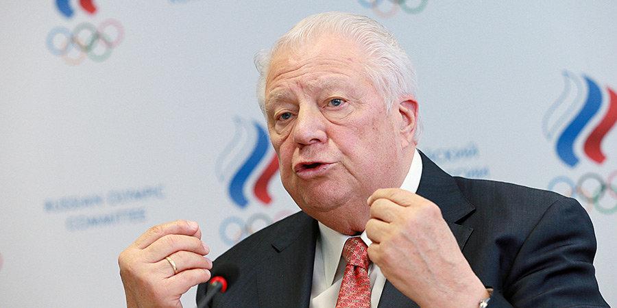 Почетный президент ОКР: «Золотые медали на Олимпиаде от нас никуда не денутся»
