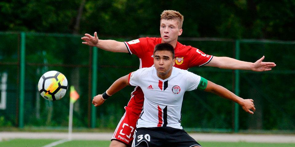 «Арсенал» и «Амкар» сыграли вничью в матче молодежных команд
