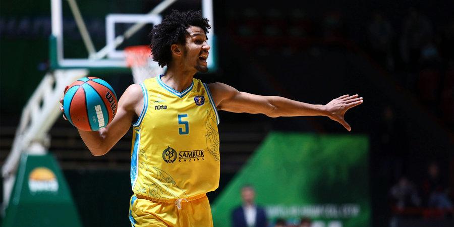 «Астана» обыграла «Енисей», прервав серию из трех поражений