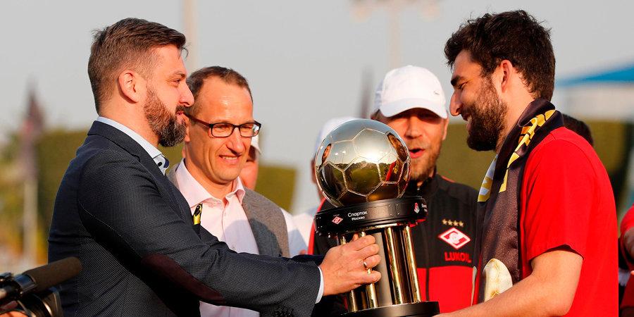 Три десятка замен в трех матчах за три недели до «Динамо». «Спартак» выиграл турнир в Катаре в режиме онлайн-эксперимента