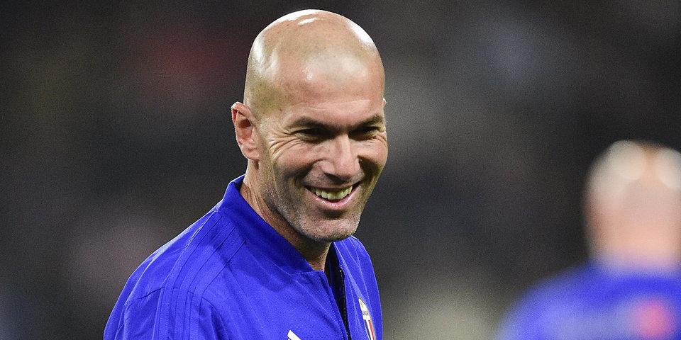 Стала известна зарплата Зидана в «Реале»