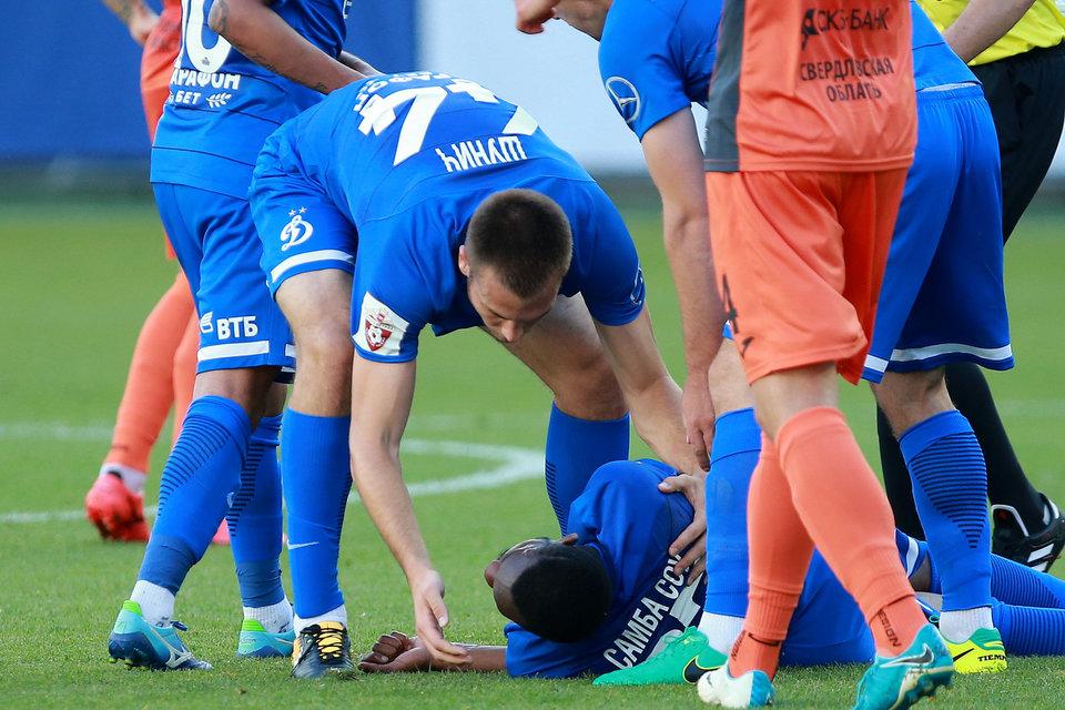 Самба Соу: «Надеюсь сыграть в следующем матче»