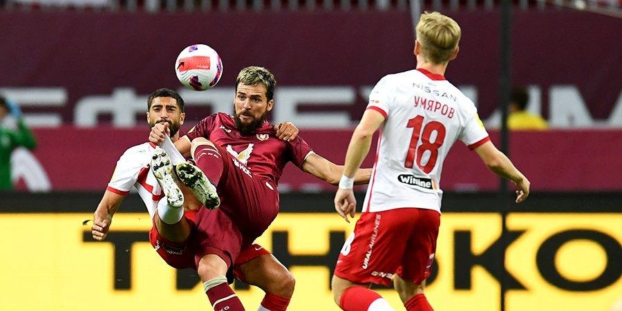 «Спартак» — о поражении от «Рубина»: «Один из тех дней, когда мяч просто не хотел идти в ворота соперника»