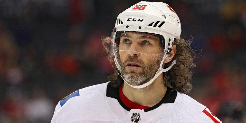 Ягр хотел бы снова вернуться в НХЛ