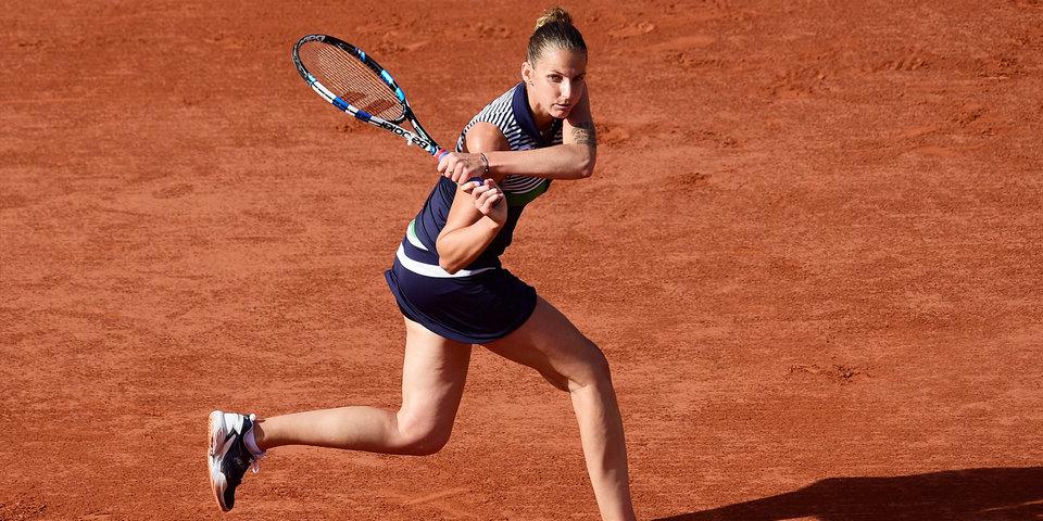 Плишкова вышла на первое место в чемпионской гонке WTA