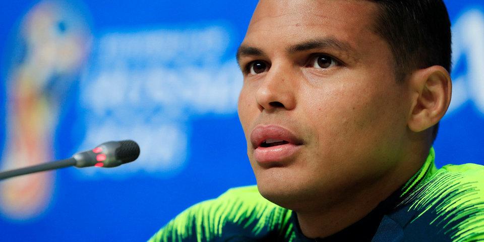 Тьяго Силва: «И Бразилия, и Коста-Рика находятся под огромным давлением»