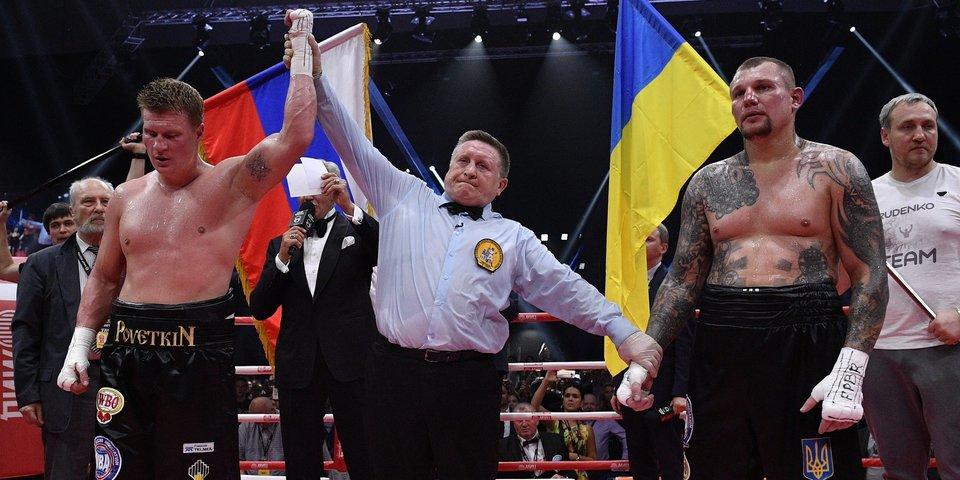 «Общались с Поветкиным на допинг-контроле». 120 минут после боя Поветкин - Руденко
