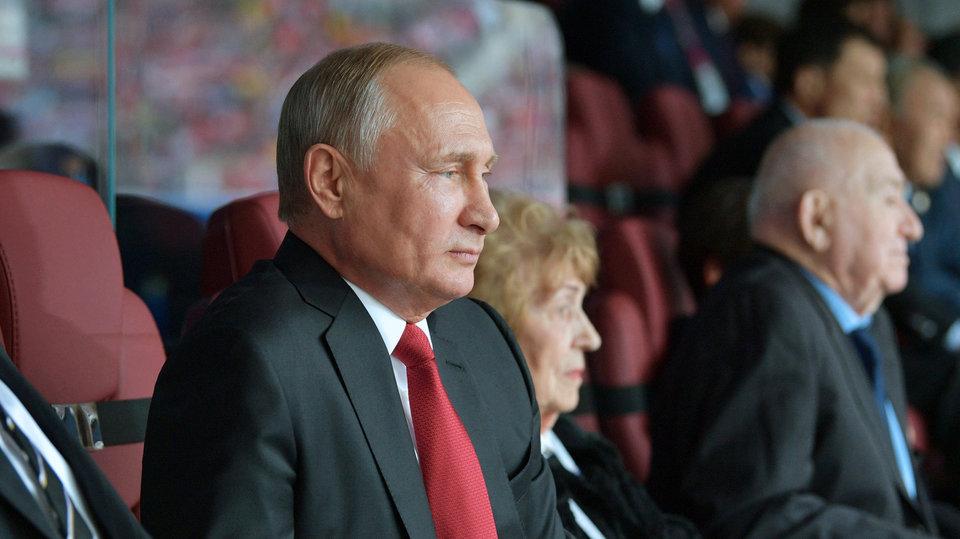 Путин будет смотреть матч Испания – Россия