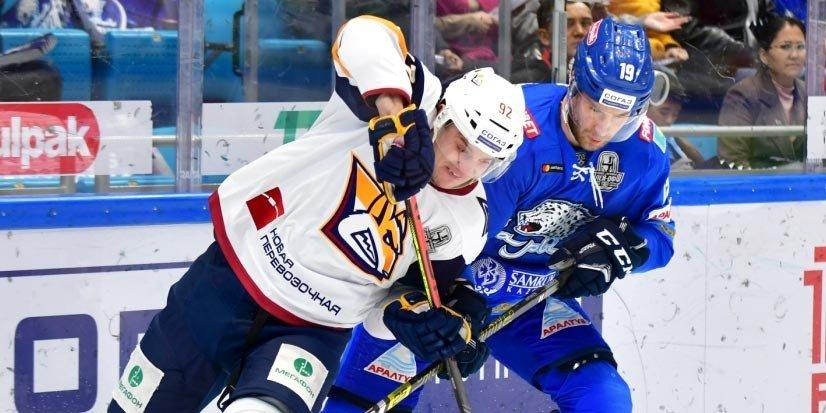 «Барыс» одержал третью победу в серии с «Металлургом»