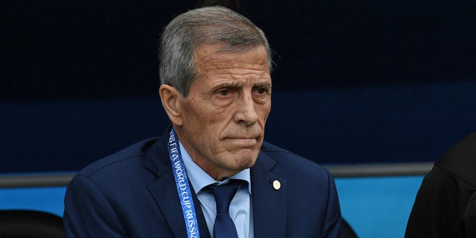 Главный тренер сборной Уругвая Табарес установил возрастной рекорд ЧМ