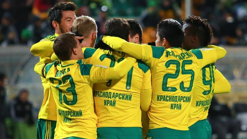 «Кубань» разгромила «Спартак-2» в Краснодаре