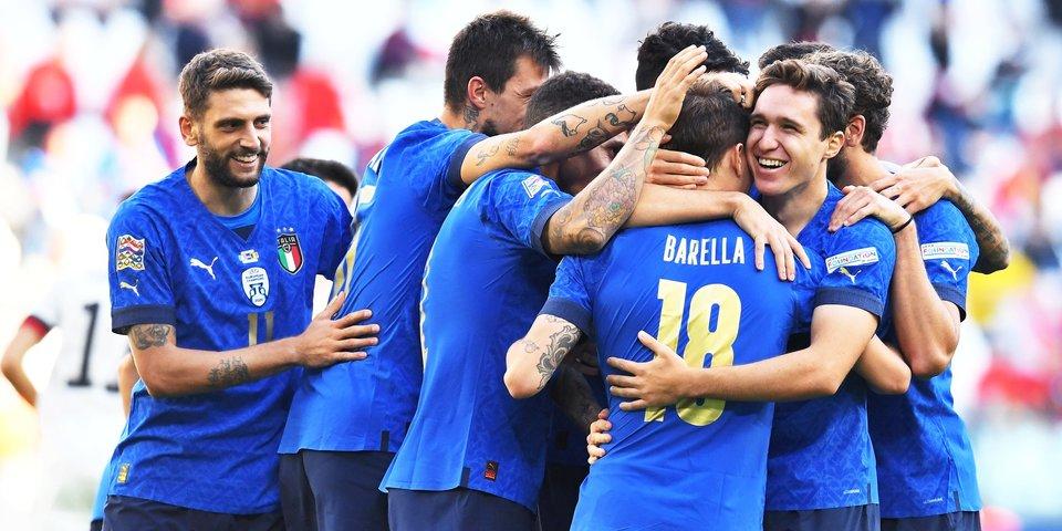 Италия обыграла Бельгию и заняла третье место в Лиге наций (видео)
