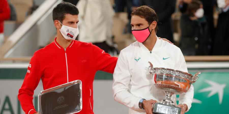 Джокович и Надаль установили рекорды пребывания в лидерах мирового рейтинга