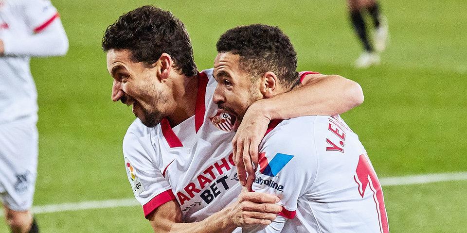 «Севилья» одержала волевую победу над «Реалом Сосьедад»