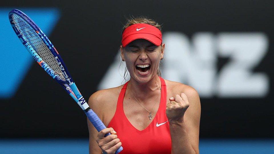 Шарапова победила Макарову на турнире в Германии