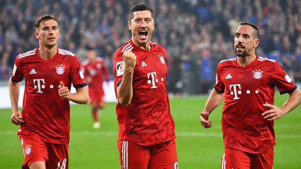 «Бавария» разгромила «Боруссию» и возглавила бундеслигу