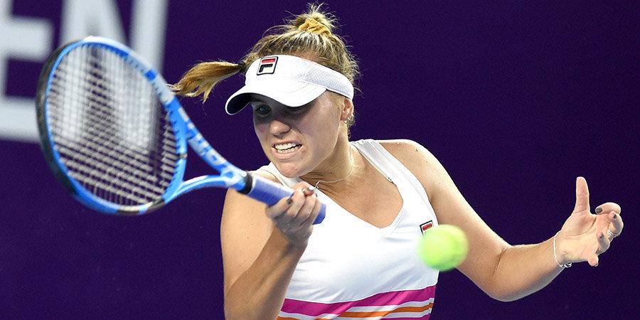 Кенин вышла в полуфинал «Ролан Гаррос», выиграв третий сет под ноль