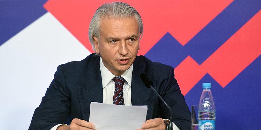 Александр Дюков: «Здоровье сотрудников клубов и спортсменов является абсолютным приоритетом»