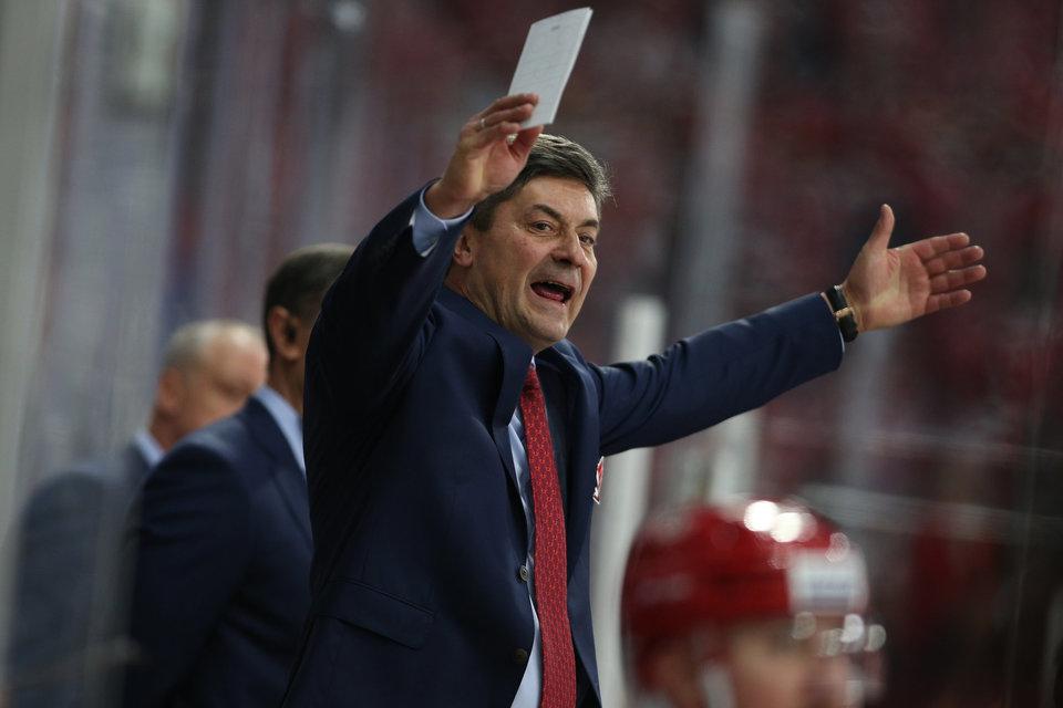 Андрей Мартемьянов: «Хоккеисты «Сибири» дрогнули в концовке»