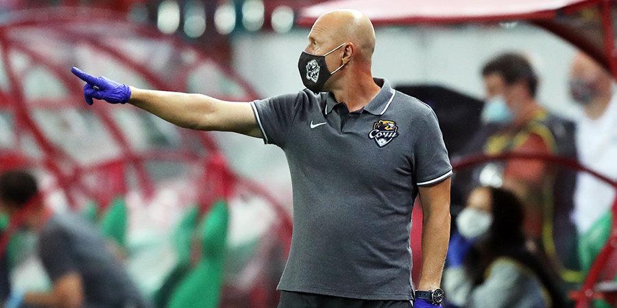 Тренер-аналитик ФК «Сочи» — о новичках команды: «Посмотрите на левую ногу Барача, она в порядке»