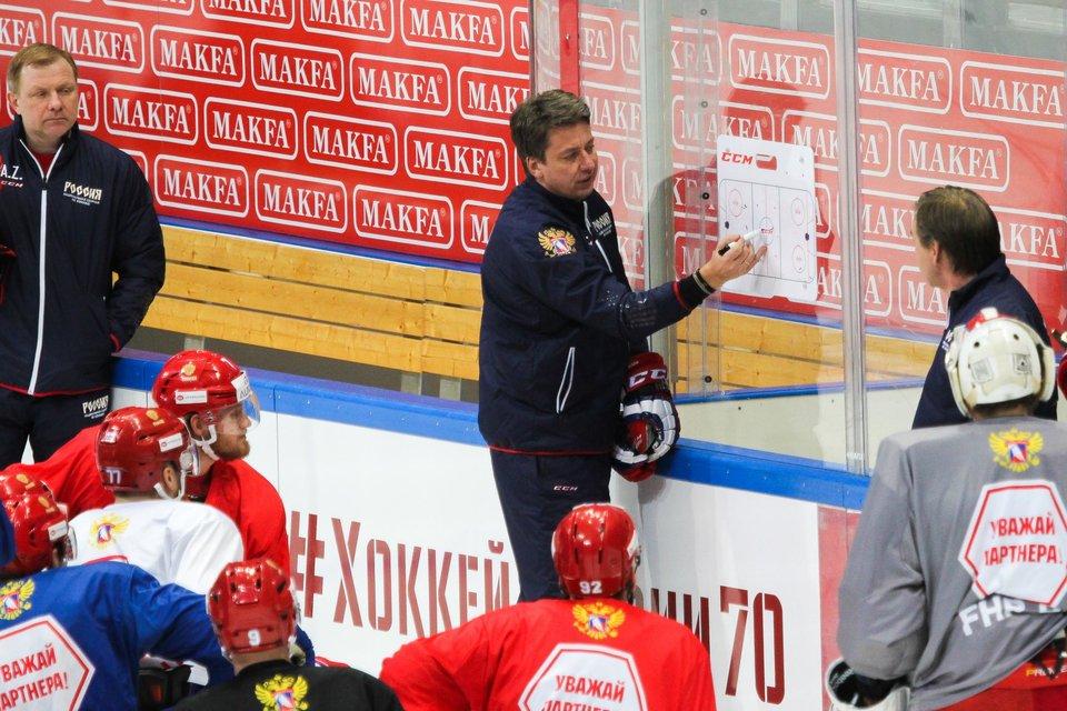Харийс Витолиньш: «Игра со шведами покажет уровень КХЛ»