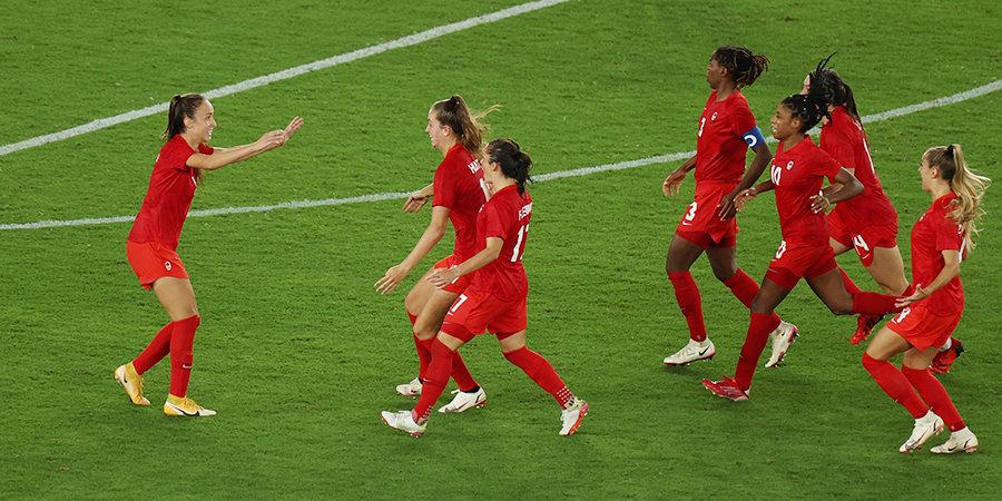 Женская сборная Канады победила на Олимпиаде-2020