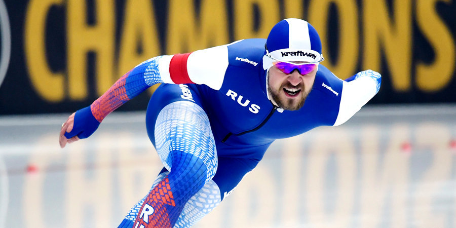 Юсков — серебряный призер на дистанции 1500 метров на этапе КМ в Минске