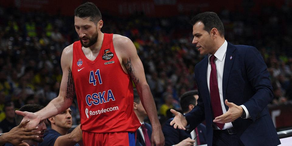 Баскетболистов ЦСКА высадили из самолета и отправят в Москву с 6-часовой задержкой