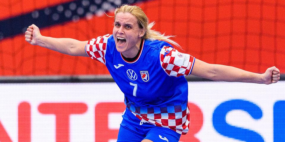 Сборная Хорватии завоевала бронзу на женском чемпионате Европы