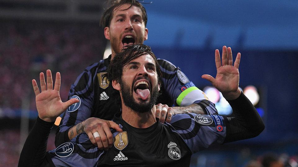 Король Испании спустился в раздевалку и поздравил «Реал» с победой
