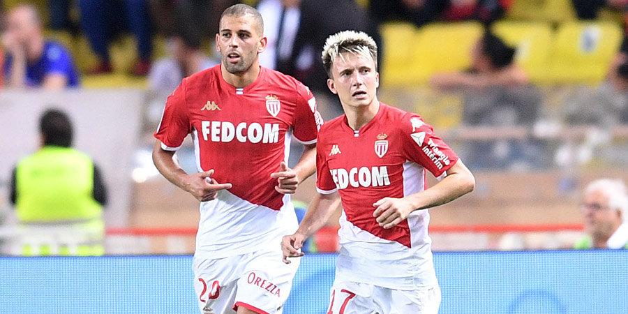 «Монако» Головина на выезде сыграл вничью с «Анже»