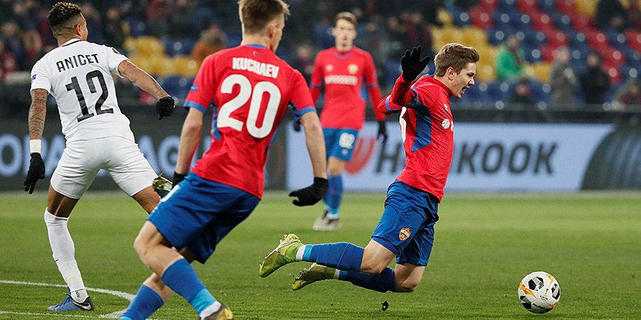 ЦСКА сыграл вничью с «Лудогорцем» и лишился шансов на выход в плей-офф Лиги Европы