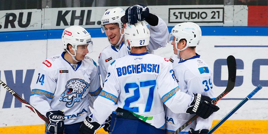 КХЛ наказал игроков по итогам матча между «Барысом» и «Трактором»