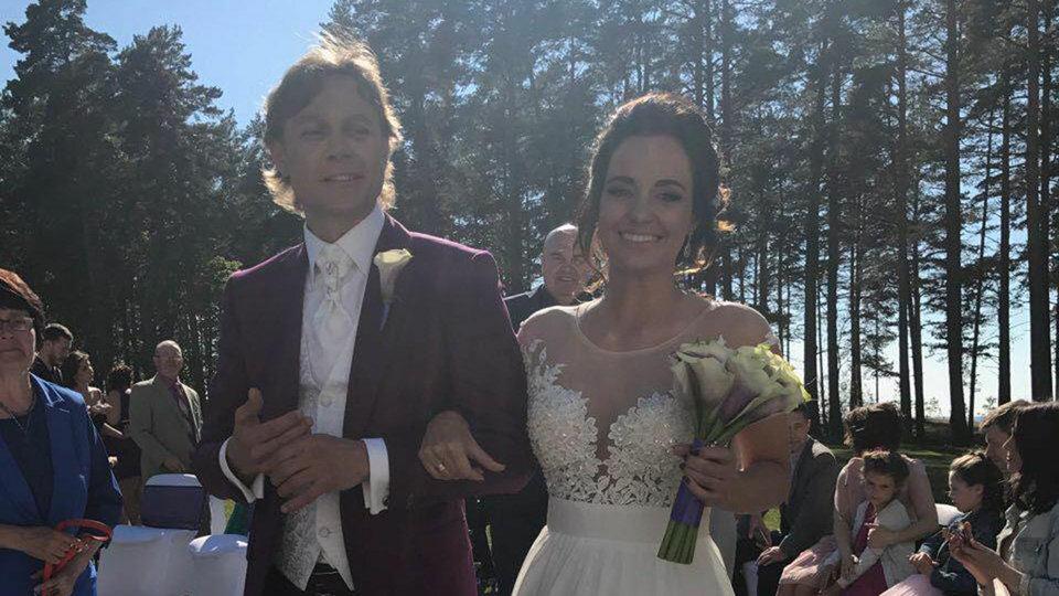 Валерий Карпин женился
