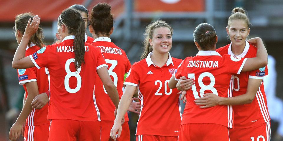 Российские футболистки стали третьими на турнире в Китае