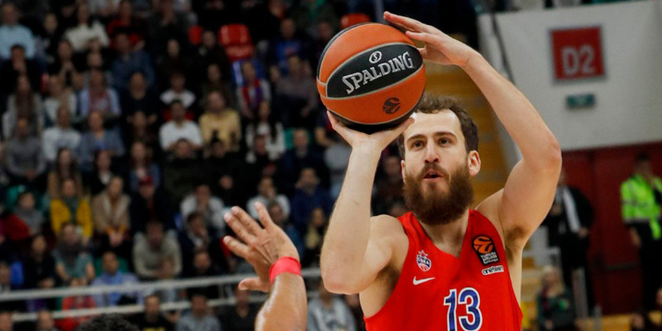 ЦСКА проиграл «Панатинаикосу» в матче Евролиги