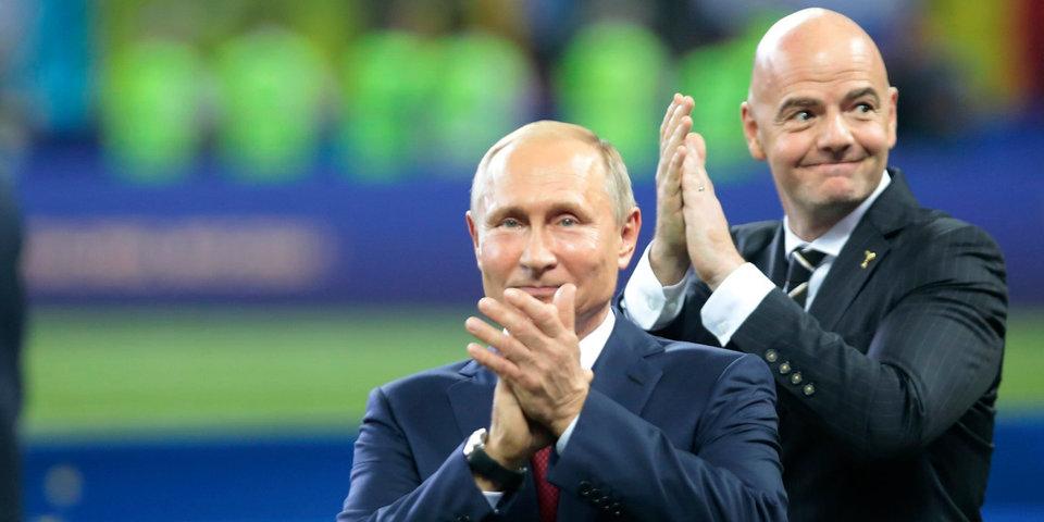 Владимир Путин — Инфантино: «Мы всегда в вашем распоряжении, готовы подключиться к реализации планов ФИФА»