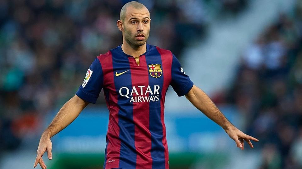 «Барселона» забила 7 мячей «Осасуне», Маскерано отметился дебютным голом за каталонцев