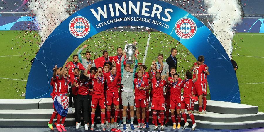 «Бавария» круче всех, нашлось место и для «Зенита». 20 сильнейших команд в Европе прямо сейчас