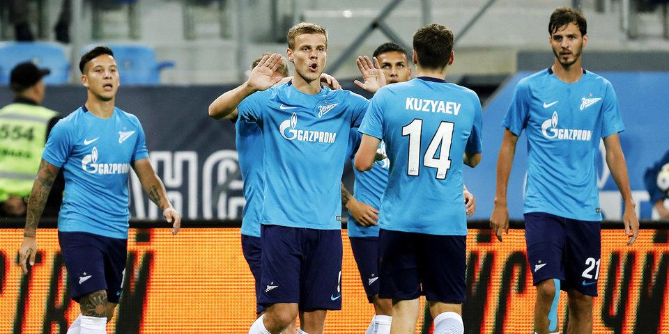 Дубль Кокорина вывел «Зенит» в групповой этап Лиги Европы: голы и лучшие моменты