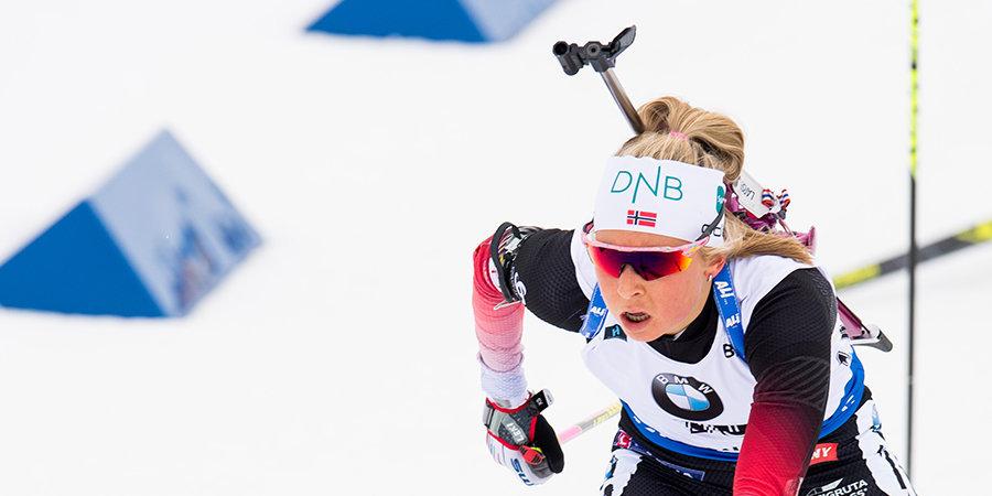 Норвежская биатлонистка отравилась навозом на предсезонном сборе