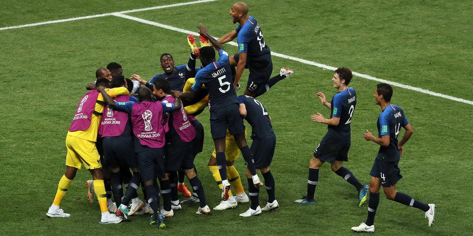 Футбол эфир франция хорватия