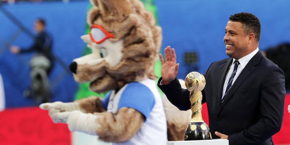 Роналдо, Цискаридзе и карнавал. Лучшие кадры с церемонии закрытия Кубка конфедераций