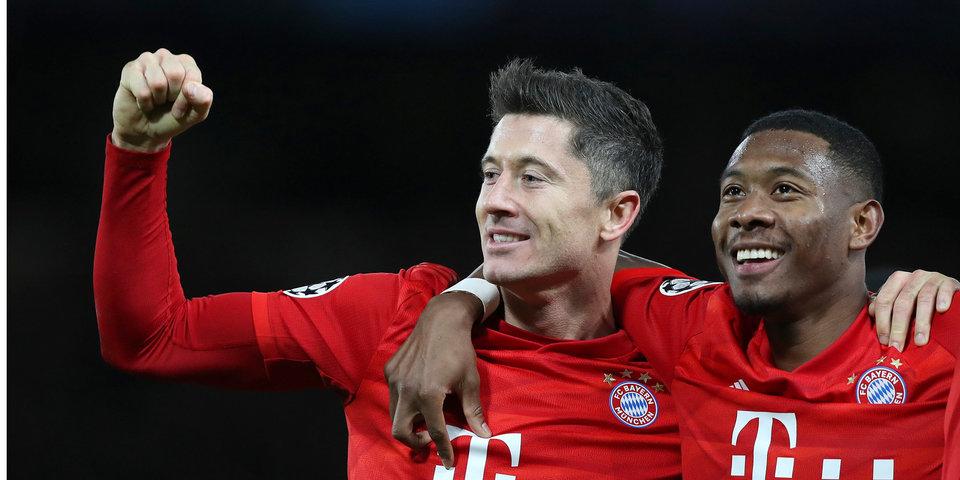 «Бавария» обыграла «Челси» в розыгрыше Лиги чемпионов на Кубке «Матч ТВ»