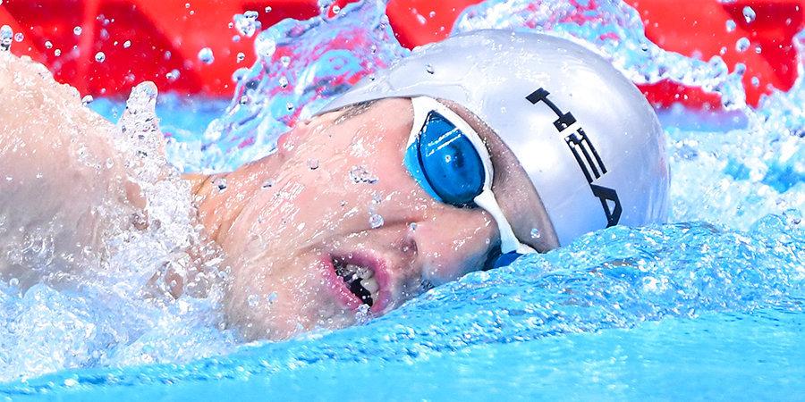 Ленский стал бронзовым призером Паралимпиады на 400 метров вольным стилем
