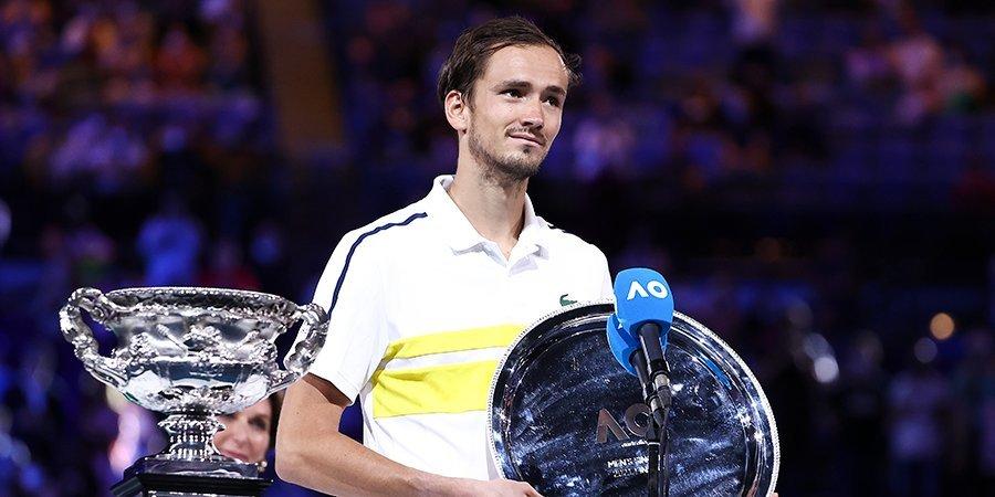 Даниил Медведев — о попадании на вторую строчку рейтинга ATP: «Работа окупается»