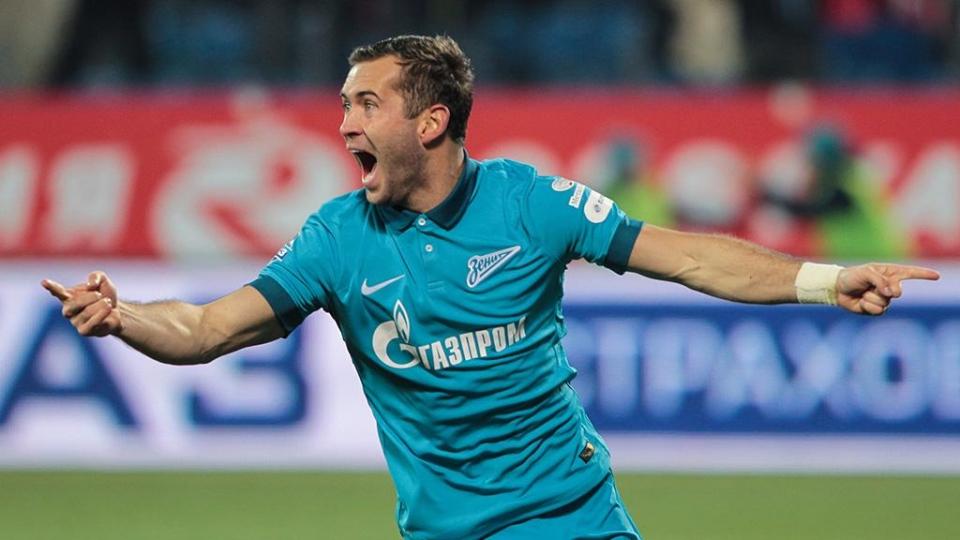 Кержаков стал рекордсменом «Зенита» по системе «гол + пас»